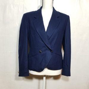 Pendleton navy blue blazer 100% Wool (14-035)